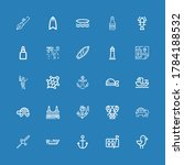 Editable 25 Ocean Icons For Web ...