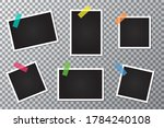 set of photo frames on a... | Shutterstock .eps vector #1784240108