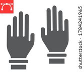 safety gloves glyph icon ... | Shutterstock .eps vector #1784241965