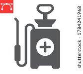 disinfection pressure sprayer... | Shutterstock .eps vector #1784241968