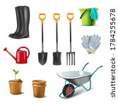 3d realistic vector collection... | Shutterstock .eps vector #1784255678