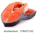 red fish isolated on white... | Shutterstock . vector #178427132