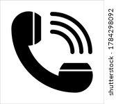 call icon symbol vector on...
