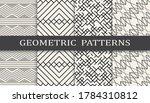Set Of Geometric Seamless...