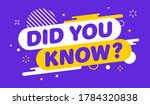 modern banner important did you ... | Shutterstock .eps vector #1784320838