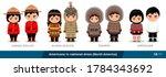 canadian police  alaska  aleuts ... | Shutterstock .eps vector #1784343692