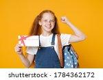 Young School Teen Kid Girl 12...