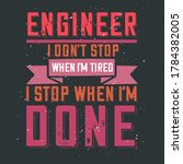 professional engineering quote... | Shutterstock .eps vector #1784382005