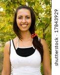 happy girl   Shutterstock . vector #17843929