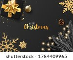 christmas banner. with... | Shutterstock .eps vector #1784409965
