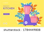 food processor concept flyer ...
