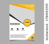 geometry brochure  flyer design ... | Shutterstock .eps vector #1784451935
