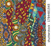 Traditional African Fabric And...