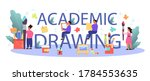academic drawing education... | Shutterstock .eps vector #1784553635