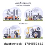 spare parts production industry ... | Shutterstock .eps vector #1784553662