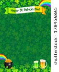 saint patrick's day vector... | Shutterstock .eps vector #178456865