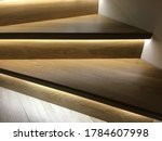 Wooden Stairs With Decorative...