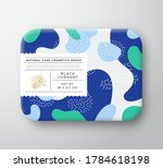 fruits bath cosmetics box.... | Shutterstock .eps vector #1784618198