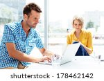 young professionals working in... | Shutterstock . vector #178462142
