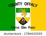 flag of county offaly is a...