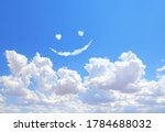 happy concept. smilie from...   Shutterstock . vector #1784688032