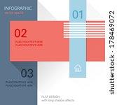 infographic brochure design | Shutterstock .eps vector #178469072