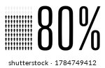 Eighty Percent People Graphic ...