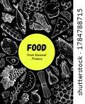 food sketch. vector...   Shutterstock .eps vector #1784788715