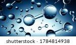3d Illustration Of Hydrogen H2...