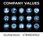 business company values icon... | Shutterstock .eps vector #1784826962