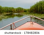 landscape with reeds ...   Shutterstock . vector #178482806