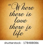 Quote Of Love