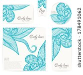 invitation card background with ...   Shutterstock .eps vector #178491062