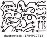 hand drawn doodle design... | Shutterstock .eps vector #1784917715