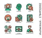 customer validation icon filled ...   Shutterstock .eps vector #1784952032
