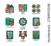 customer validation icon filled ...   Shutterstock .eps vector #1784952038