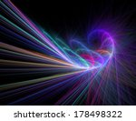 abstract illustration with high ... | Shutterstock . vector #178498322