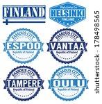 set of grunge rubber stamps... | Shutterstock .eps vector #178498565