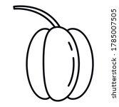 fresh paprika icon. outline...   Shutterstock .eps vector #1785007505