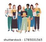 college student character... | Shutterstock .eps vector #1785031565