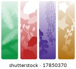 four christmas banners... | Shutterstock . vector #17850370