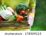 Woman Wearing Gloves With Fres...