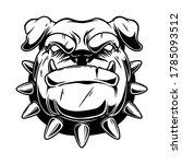 illustration of boxer dog head...   Shutterstock .eps vector #1785093512