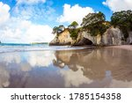 Cathedral Cove On The North...