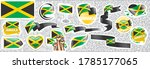 vector set of the national flag ... | Shutterstock .eps vector #1785177065