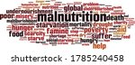 malnutrition word cloud concept.... | Shutterstock .eps vector #1785240458