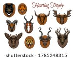 Hunting Sport Trophy  Animal...