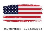 united states flag in grunge... | Shutterstock .eps vector #1785253985
