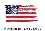 united states flag in grunge... | Shutterstock .eps vector #1785253988
