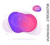 modern poster design template ... | Shutterstock .eps vector #1785260708